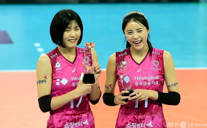 バレー 女子 韓国