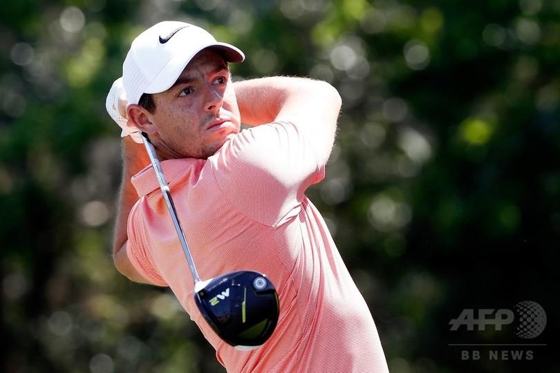マキロイがBMW・PGA選手権欠場を表明、肋骨の故障が悪化