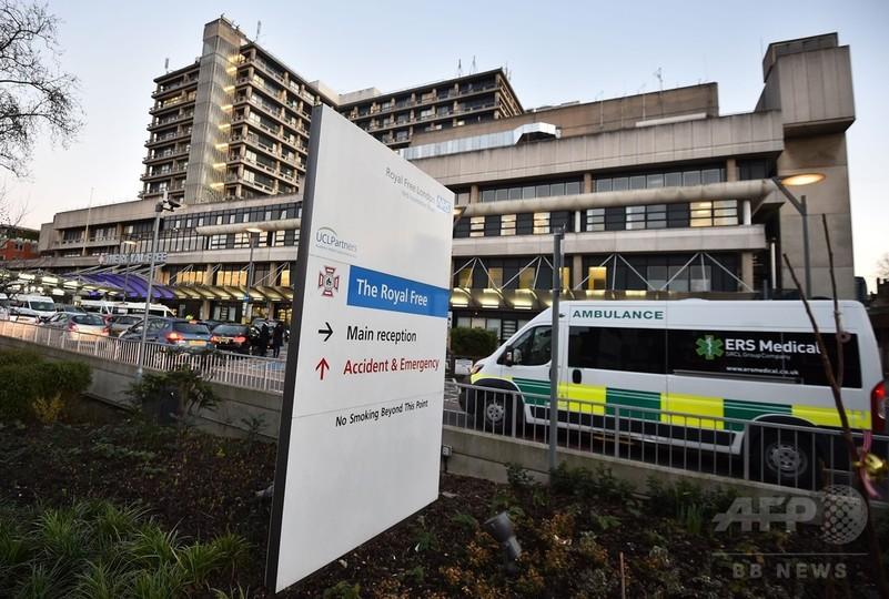 エボラ感染の英看護師、合併症で入院 通算3度目