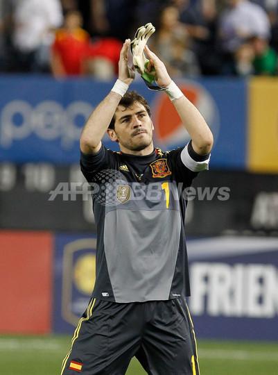 スペインがアイルランドに快勝、サッカー国際親善試合