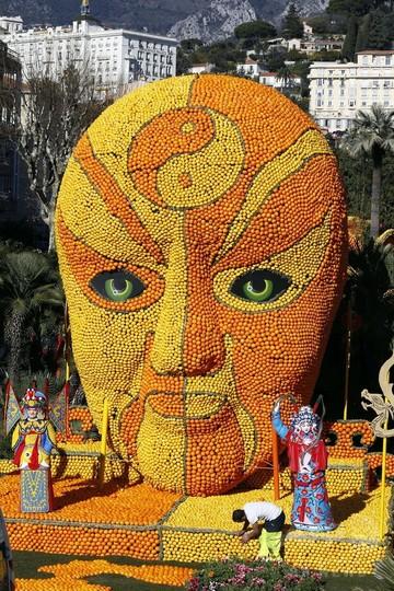 恒例の「レモン祭り」開催迫る、南仏