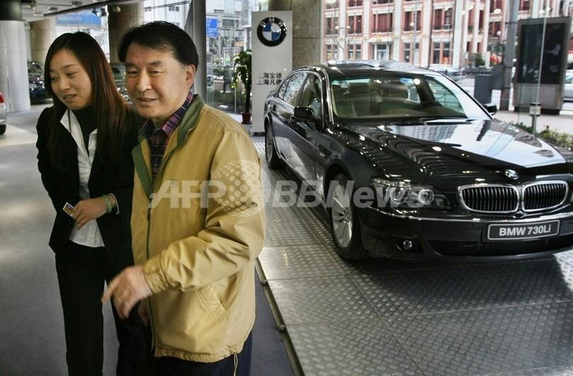 中国の富裕層、高まるブランド志...