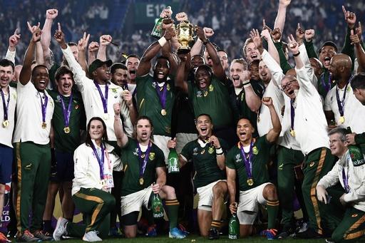「ラグビーを超えた出来事」、南アのレジェンドもW杯制覇に感無量