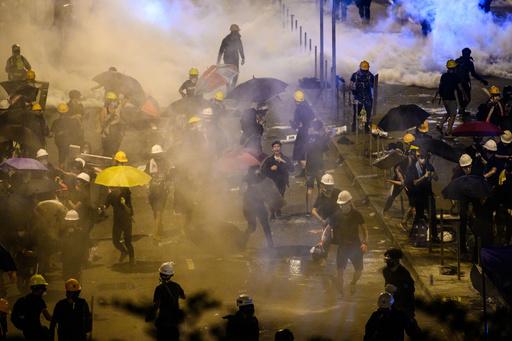 台湾、香港から避難のデモ参加者に援助を表明