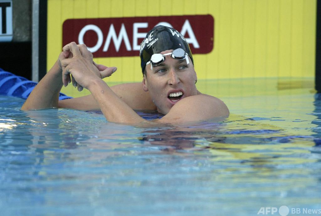 五輪金メダリストを訴追、米議会乱入に参加 競泳のケラー氏