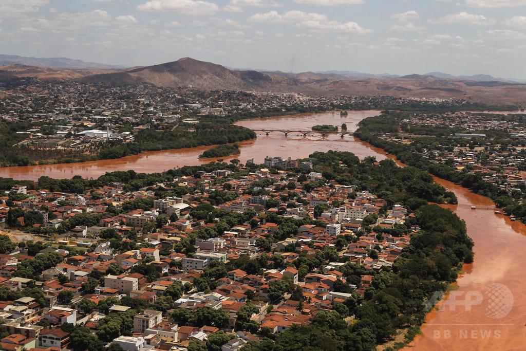 流出の有毒泥、大西洋に到達 ブラジル鉱山ダム決壊事故