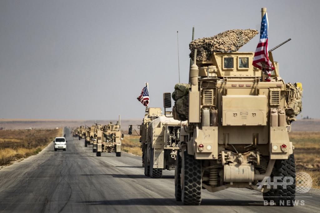 米、シリア北東部の駐留部隊を増強へ 油田防衛で