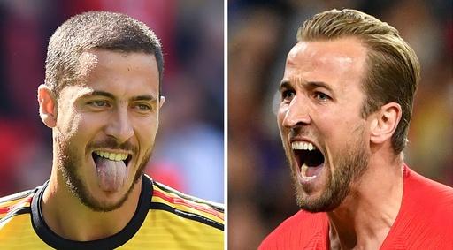 ベルギー対イングランドの先発発表、イングランドは5人変更