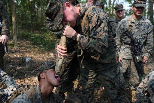 アジア最大級の軍事演習「コブラゴールド」、米タイ兵士がサバイバル訓練