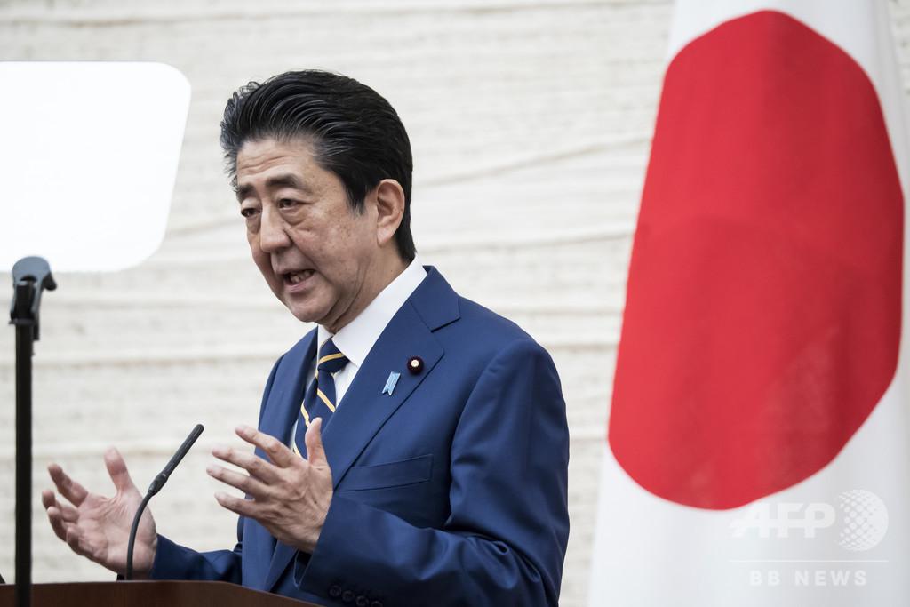 東京五輪「完全な形」にはコロナ終息が不可欠、安倍首相
