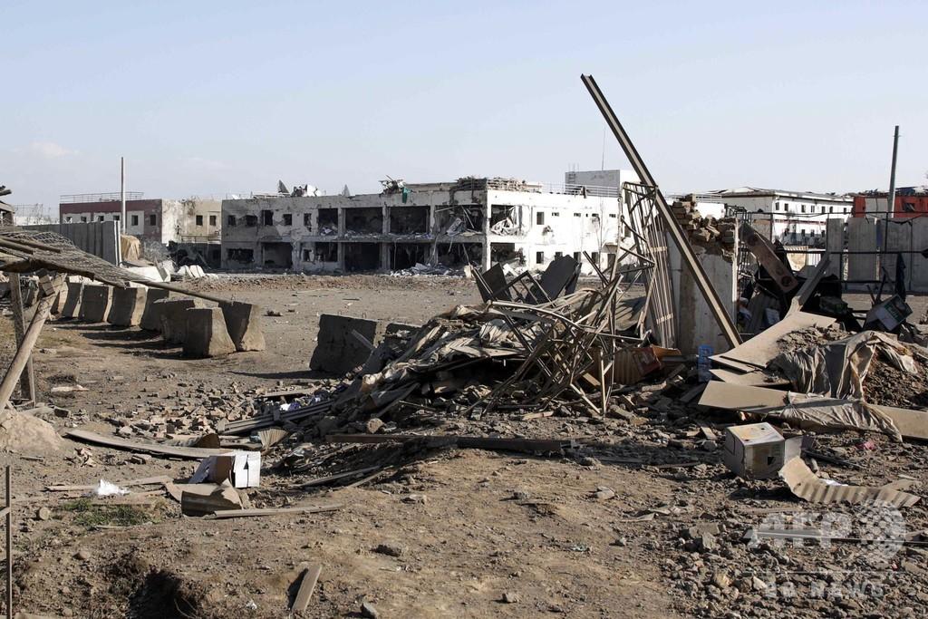 タリバンが主要米軍拠点を襲撃