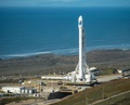 スペースX、ロケットの洋上着陸に失敗 衛星打ち上げには成功
