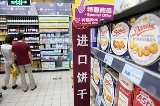 中国政府の抜き打ち検査、食品13点が不合格 うち9点が農水産物