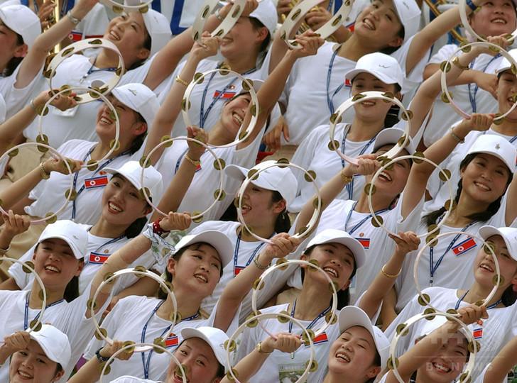 平昌冬季五輪、北朝鮮の選手団派遣で「美女軍団」にも再注目