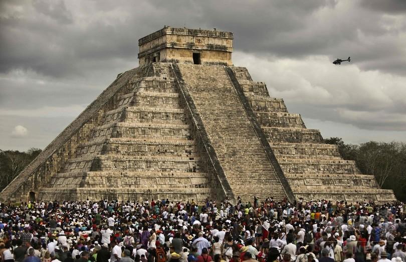 マヤ文明の「入れ子ピラミッド」、内部に第3のピラミッドを発見