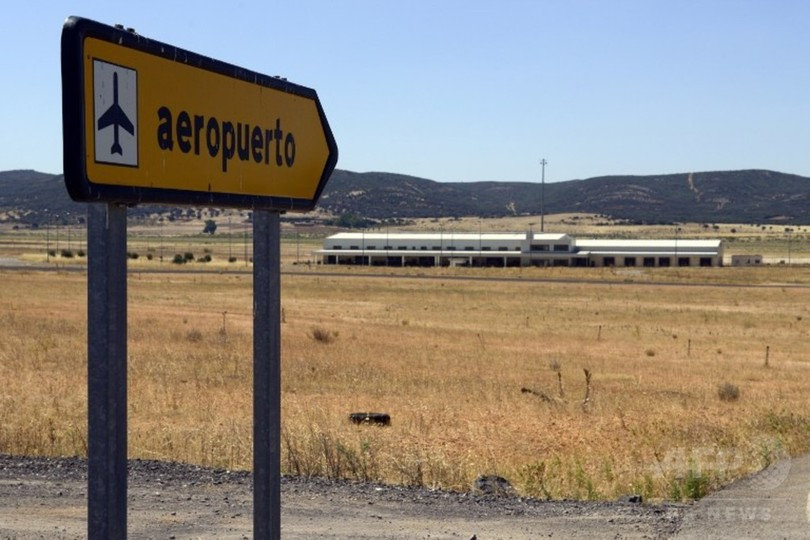 スペインの「幽霊空港」がついに売却、69億円で