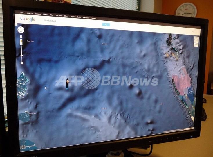グーグルマップ上の「幻の島」、19世紀捕鯨船の誤認が起源か