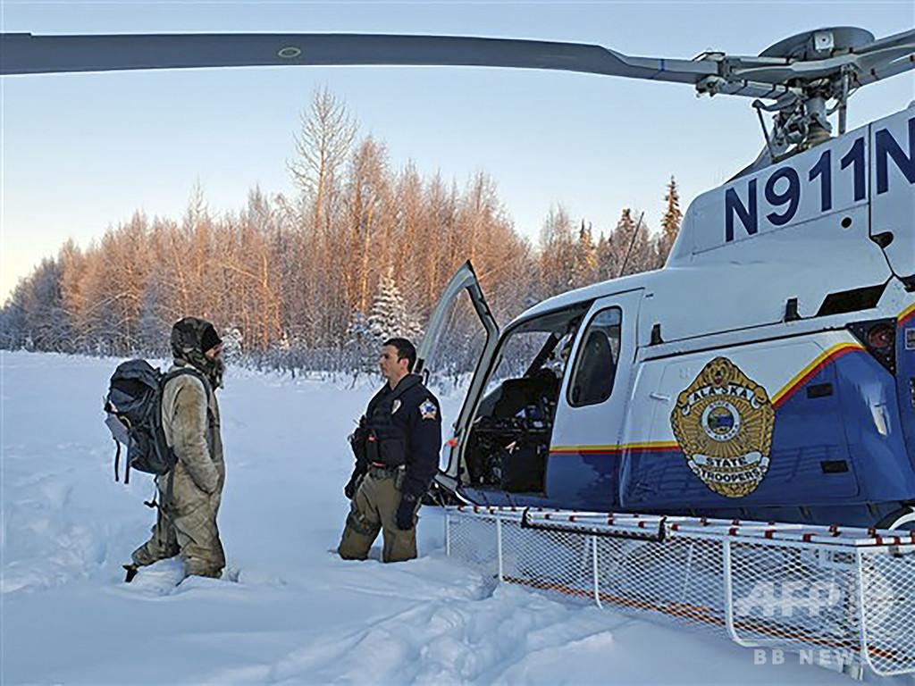 火災で山小屋と愛犬失う──極寒のアラスカで3週間生き延びた男性が語る