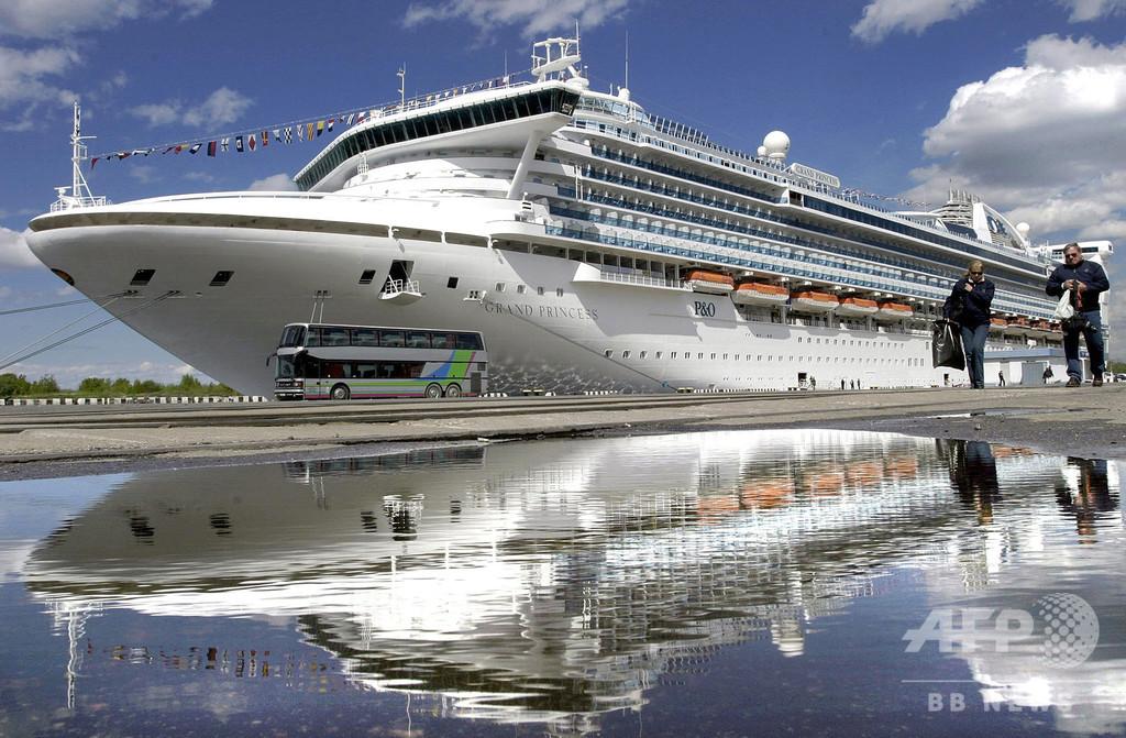 サンフランシスコ沖で待機のクルーズ船、21人が新型コロナ陽性 米副大統領
