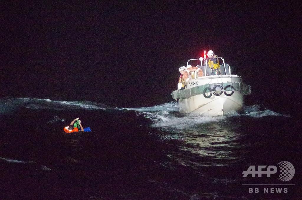 奄美沖で遭難の貨物船、沈没か 43人乗船、牛6千頭輸送中