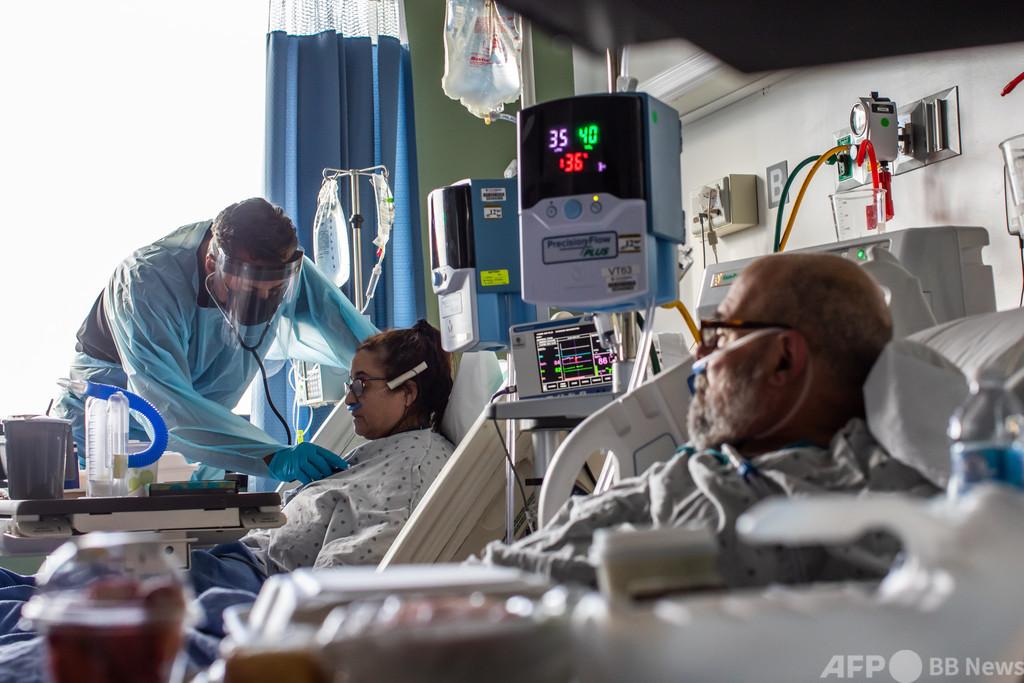 クリスマスツリーの仮装が原因? 米病院でコロナ集団感染 1人死亡