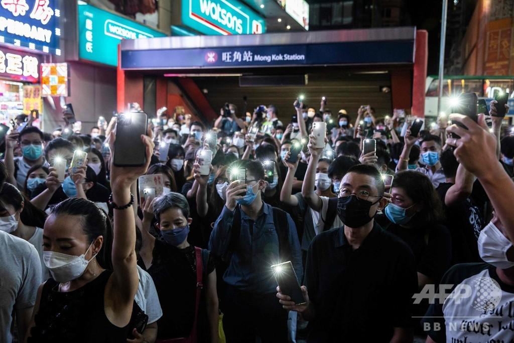 米上院、対中制裁法案を可決 香港の国家安全法めぐり