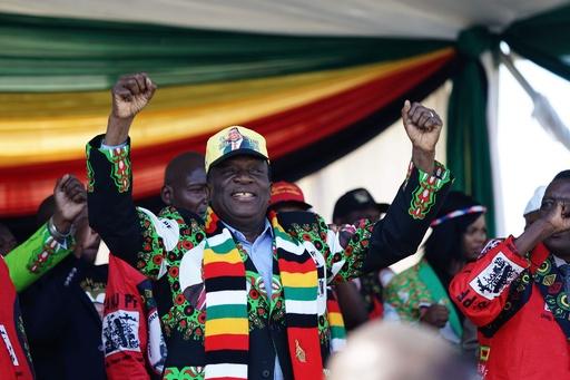 ジンバブエの与党集会で爆発 15人負傷 大統領暗殺未遂か