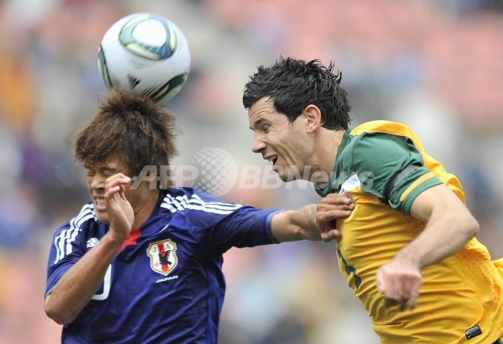 日本U-22、3-1でオーストラリア下す サッカー国際親善試合