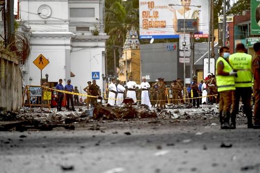 スリランカ・コロンボでまた爆発、前日標的となった教会付近