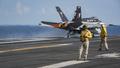 空母カール・ビンソンの艦載機操縦士が緊急脱出、フィリピン沖