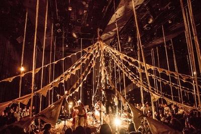 音と布と光のサーカス「シルコ・デ・サストレ」東京公演開催、ゲストに女優・中嶋朋子