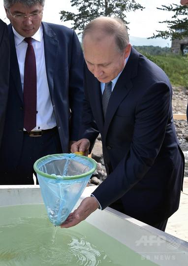 バイカル湖は「極めて高い汚染状態」 プーチン大統領が警鐘