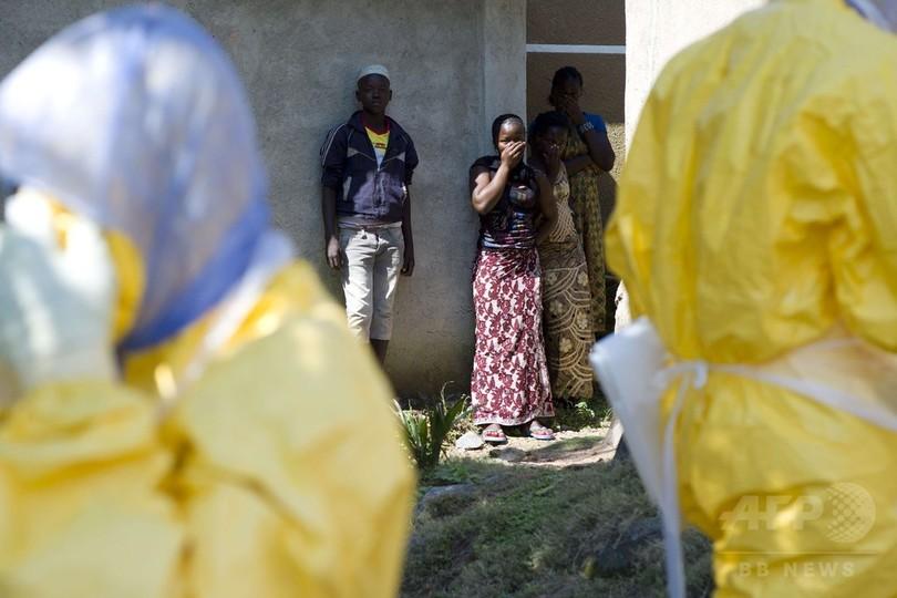 エボラ熱の死者、5689人に WHO