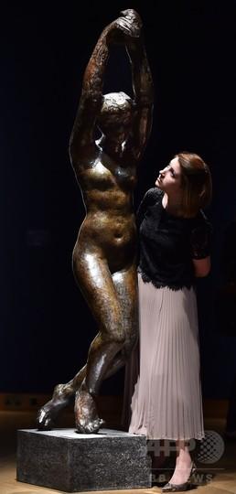 初鋳造のロダン作品、1億4200万円で落札 調査中に型を発見