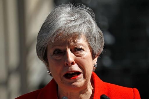 メイ英首相、6月7日に党首辞任へ
