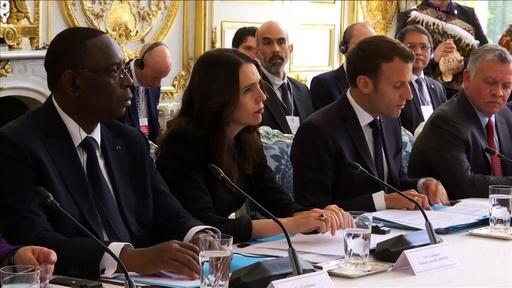 動画:IT大手、過激な投稿の撲滅へ行動 仏・NZ首脳らと会議