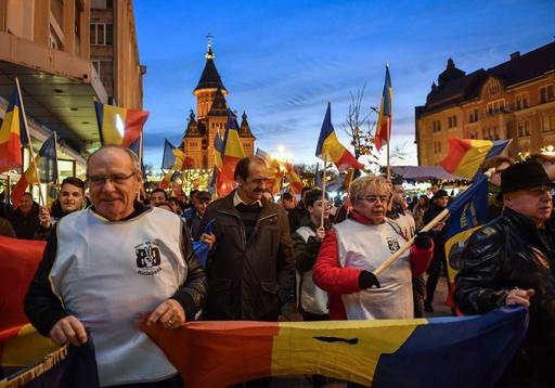 ルーマニア革命から30年、始まりの地で「自由の行進」