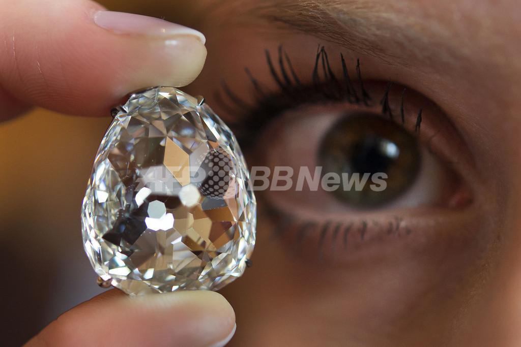 35カラットの歴史的ダイヤ「ボーサンシー」、7億7000万円で落札 スイス