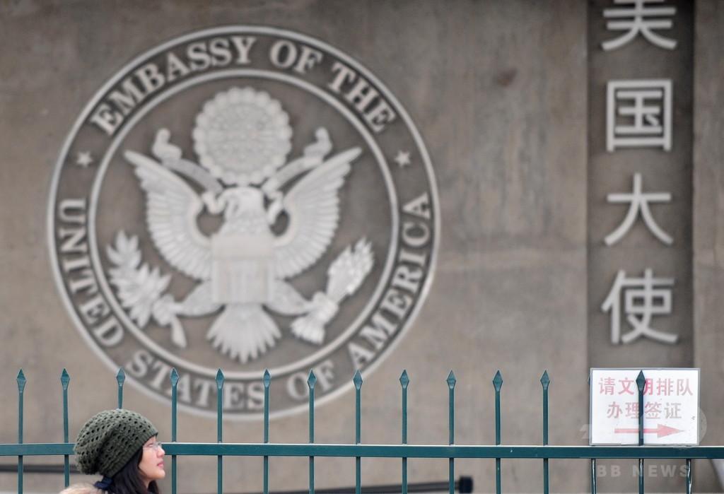 在中国の米政府職員、「異常な」音聞き脳損傷 大使館が注意呼びかけ