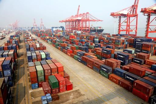 1~8月の中国の輸出入額 対EUとASEANなどで増加、対米は減