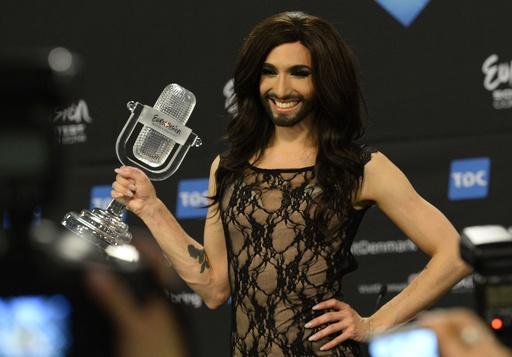 女装歌手優勝で怒り爆発、ロシア政治家らがユーロビジョン批判