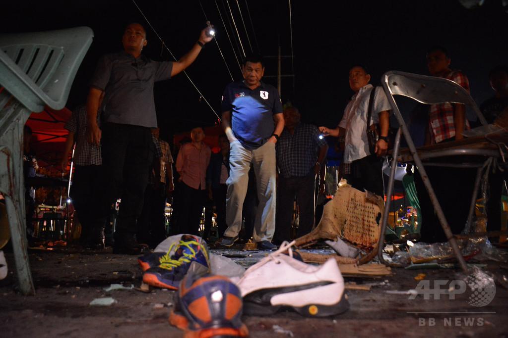 比大統領、無法状態を宣言 ダバオ爆発の「テロ行為」に対抗