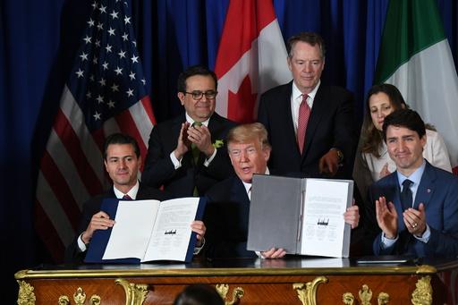 メキシコ議会、米カナダとの新貿易協定批准を承認 3か国で初