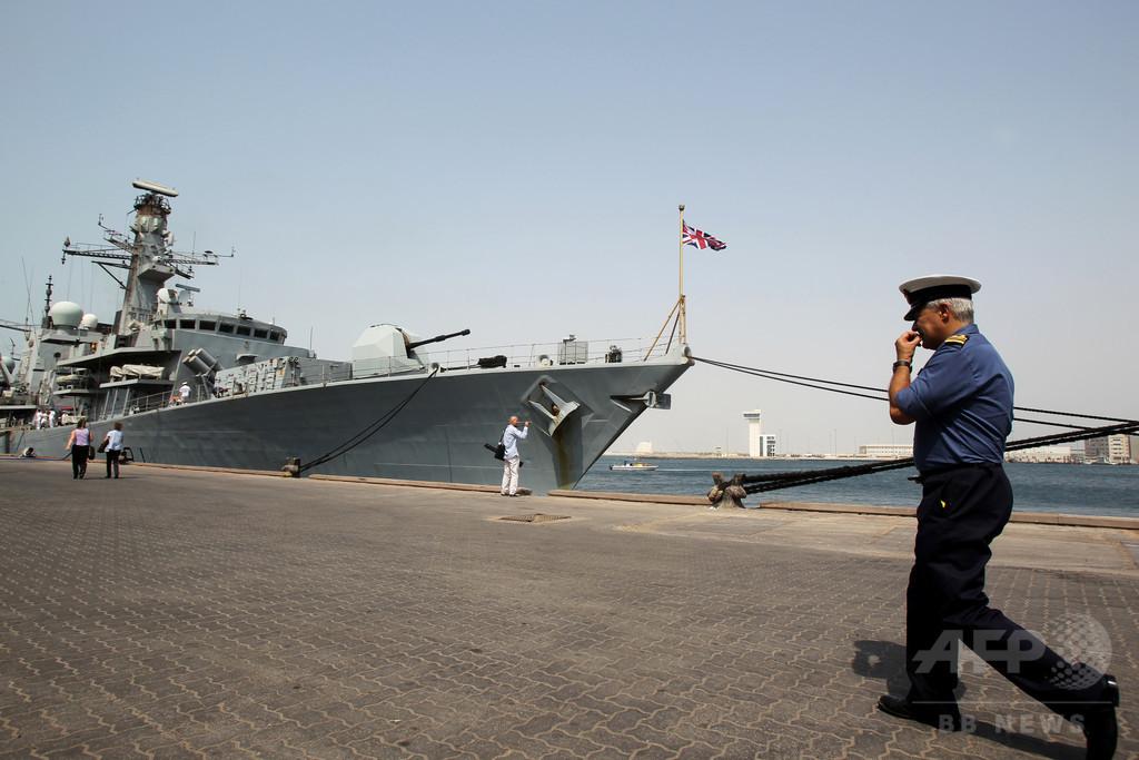 英フリゲート艦、南シナ海を航行へ 中国の反発必至