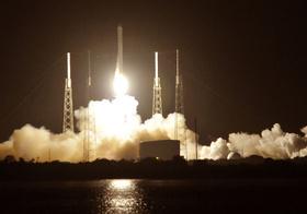 米スペースXのロケット、試験飛行中に爆発