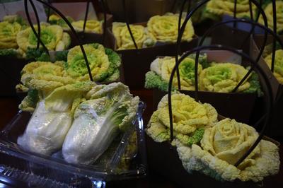 愛らしいバラ白菜、南京農業大学
