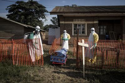 エボラ流行のコンゴ民主共和国、死者200人超える