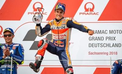 マルケスがドイツGP9連覇、年間王者争いでもリード広げる