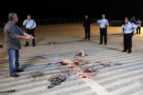 国際ニュース:AFPBB Newsテルアビブで無差別殺傷、米観光客死亡 12人負傷