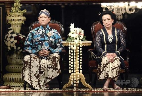 女性の王位継承者めぐり騒動、インドネシア・ジョグジャカルタ